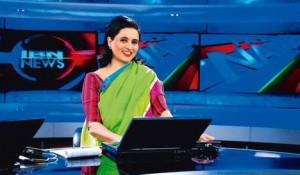 Sagarika Ghose - pembawa berita CNN - IBN