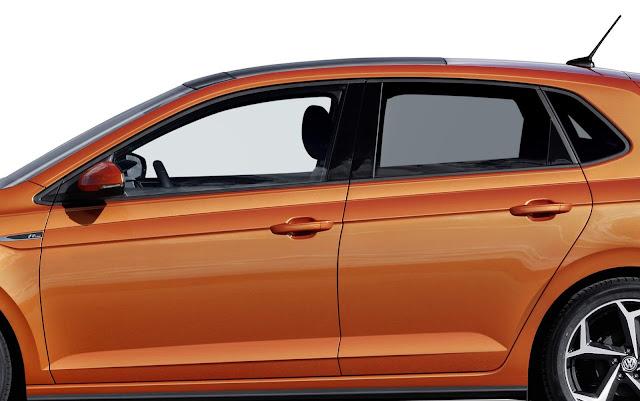 Fiat Argo x Volkswagen Polo 2018 - design