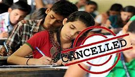 Due to COVID 19 AP 10th ssc examinations were cancelled (Officially)