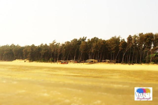 The famous tajpur beach