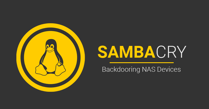 New Linux Malware Exploits SambaCry Flaw to Silently Backdoor NAS Devices
