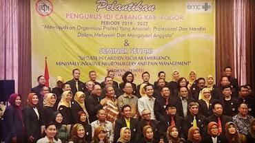 Pelantikan Pengurus IKATAN DOKTER INDONESIA
