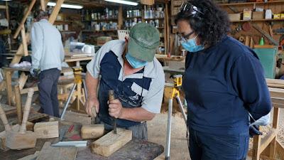 Remata a VIII edición do curso de carpintaría de Ribeira_2