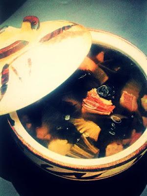 Resep masakan indonesia tradisional Tulang Iga Masak Sayur Asin