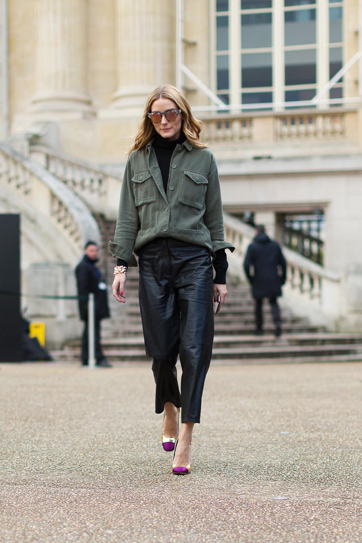 Olivia Palermo - Street Chic: Style from Paris Harper's Bazaar