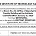 Result-Written Test-AR (Legal)-IIT Kanpur
