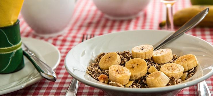 Alimentação fitness, Banana com aveia