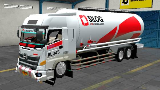 Mod Truck Hino 500 Tangki Semen Sumatera Style