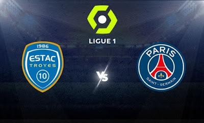 مشاهدة مباراة باريس سان جيرمان ضد تروا 07-08-2021 بث مباشر في الدوري الفرنسي