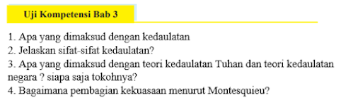 Jawaban Buku PKN Kelas 9 Uji Kompetensi Bab 3 Hal 94 ...