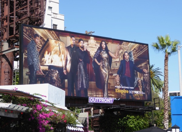 Empire season 4 Power becomes them billboard