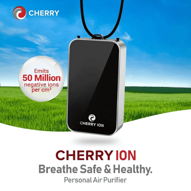Cherry Ion Personal Wearable Air Purifier launched