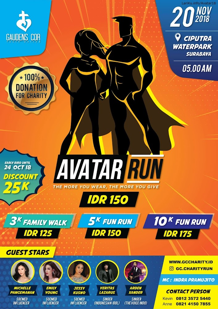 Avatar Run • 2018
