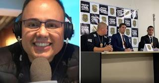 A PCMG (Polícia Civil de Minas Gerais) cumpriu, nesta quinta-feira (23), mandado de busca e apreensão na casa do jornalista Bruno Azevedo, que havia desaparecido em novembro passado.