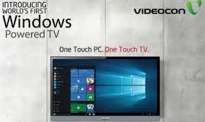Buy Videocon Windows 10 LED TV price. Videocon Windows 10 LED TV soon in India PC cum TV