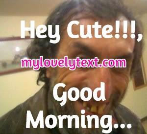 Good Morning Handsome Meme