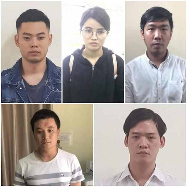 Bắt nhóm người Trung Quốc cho vay nặng lãi ở TP. HCM với lãi suất hơn 1.000%/năm