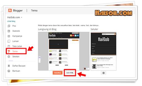Cara Mencegah Internal Link Terbuka Pada New Tab di Blogspot