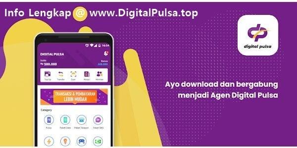 Mari Bisnis Jualan Pulsa Elektrik Murah All Operator Bersama DigitalPulsa.top CV Digital Payment Online