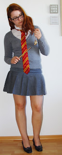 [Halloween-Special] Costumes out of my Closet - Teil I: Harry Potter: Gryffindor Girl