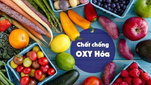 thực phẩm chống oxi hóa