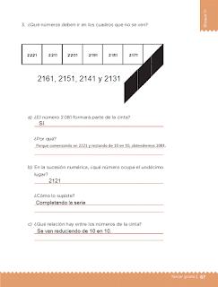 Respuestas Apoyo Primaria Desafíos matemáticos 3ro. Grado Bloque III Lección 37 Los juegos
