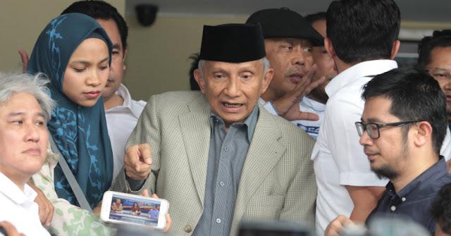 Amien Rais: Ada tiga proyek yang menghina bangsa Indonesia