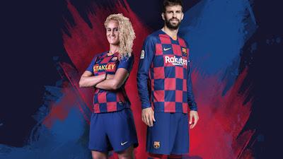 Camiseta FC Barcelona temporada 2019-2020 cuadros
