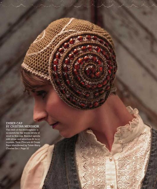 Patrón #1227: Ember Cap a Crochet