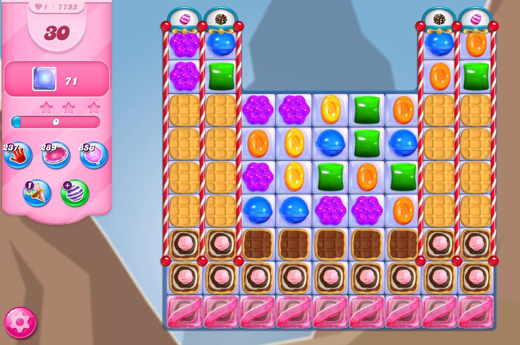 Candy Crush Saga level 7752