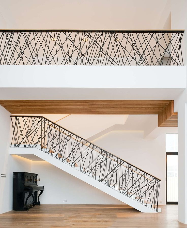 Contemporary Interior Stair Rails