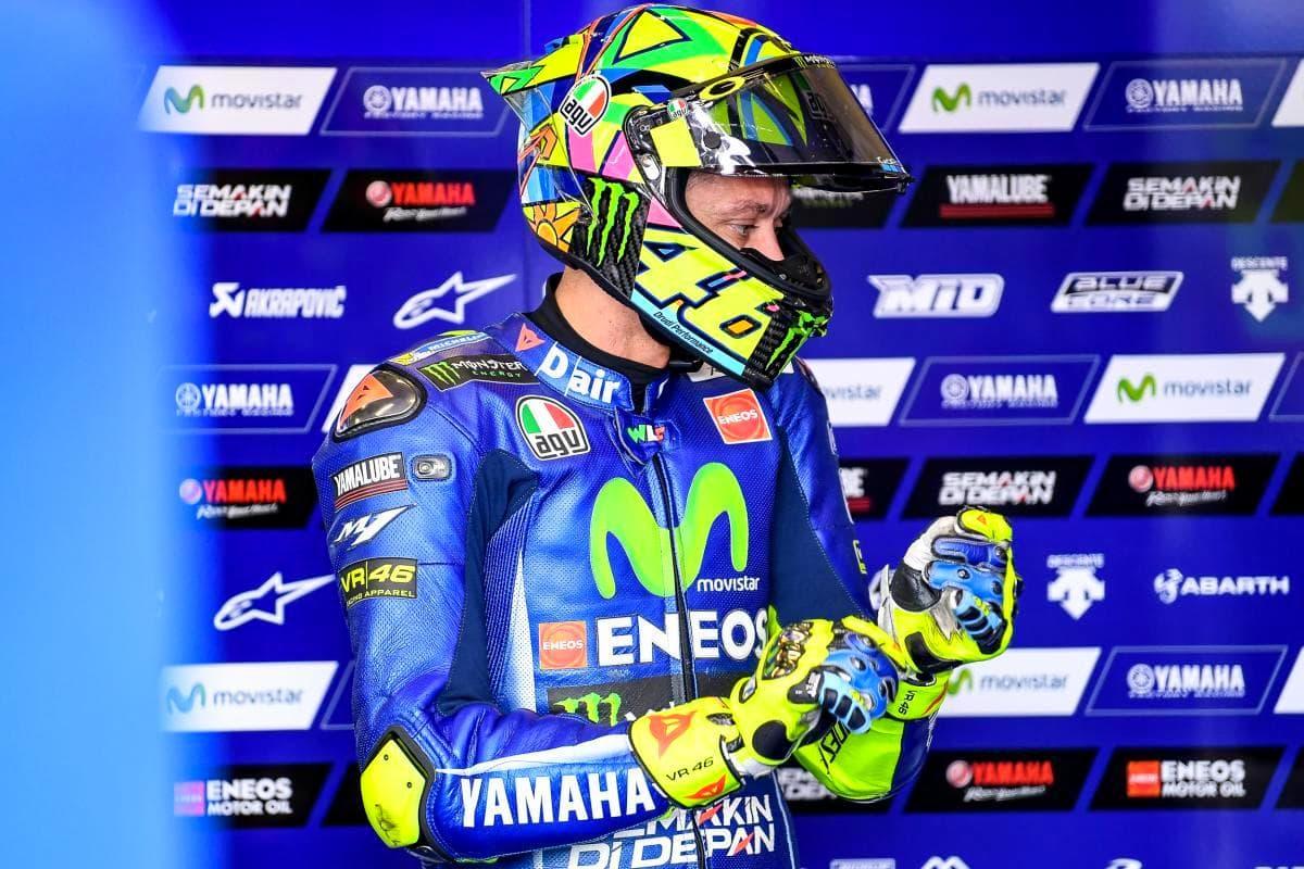 Valentino Rossi : Feeling terhadap motor dan ban berubah banyak disetiap sirkuit