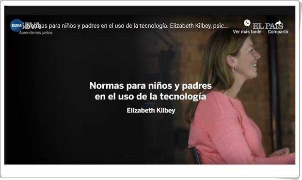"""""""Normas para niños y padres en el uso de la tecnología"""" (Vídeo educativo)"""