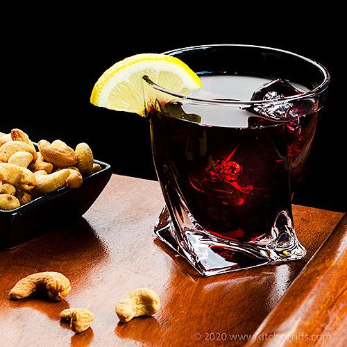 Port Wine Sangaree Cocktail