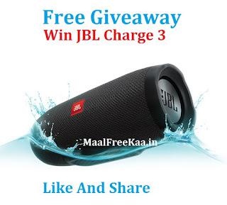 FREE JBL Charge 3