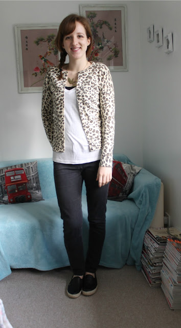 OOTD: Leopard Print Cardigan and A New Hairstyle, Primark, Topshop, ASOS, Warehouse, Fashion, Fashion Blogger