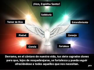 Resultado de imagen de «El Padre del cielo dará el Espíritu Santo  a los que se lo pidan»