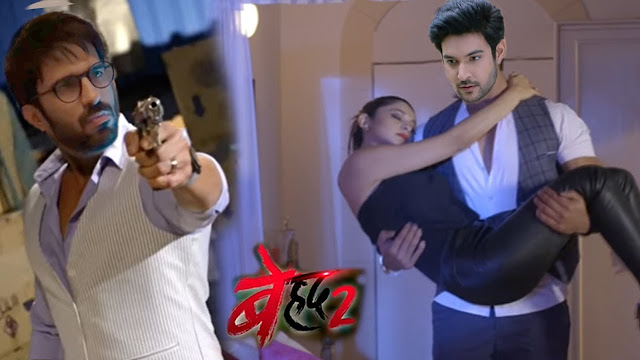 Face-Off : Vikram's nehle pe dehla blocks Maya's escape way in Beyhadh 2