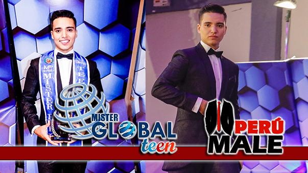 Vladimir Gómez es Mister Teen Perú Global 2019