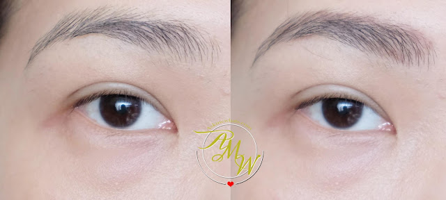 a photo of Coringco Soft Triangle Eyebrow Pencil Review by Nikki Tiu of askmewhats.com