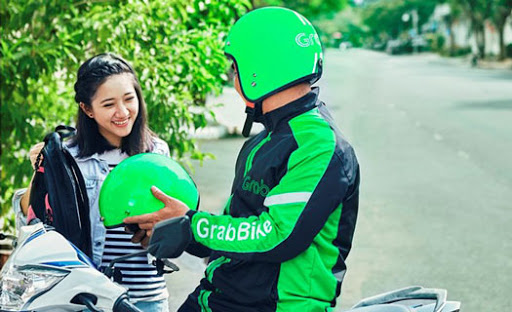 Grab Bike cantik