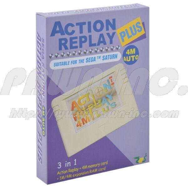 SEGA Saturn Modded Pro Action Replay Plus 4MB RAM