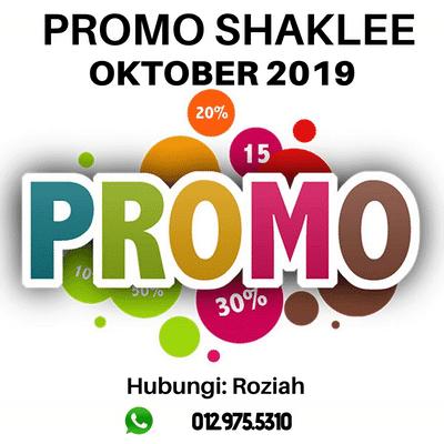 Promo Shaklee Oktober 2019