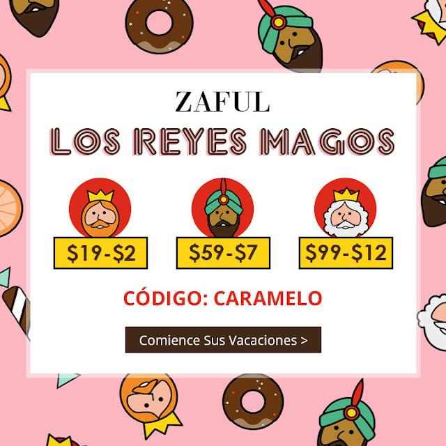 Los Reyes Magos Zaful.