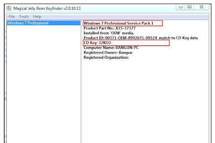 Cara Melihat Product Key Windows XP/7/8/8.1/10 di Komputer/Laptop Yang Sudah Terinstall