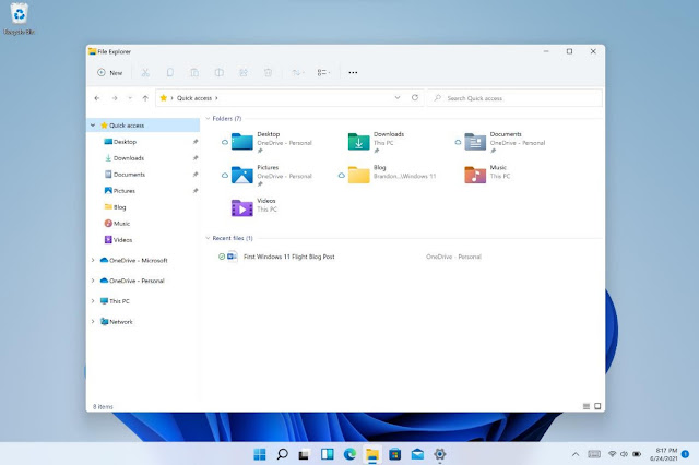 File Explorer Windows 11
