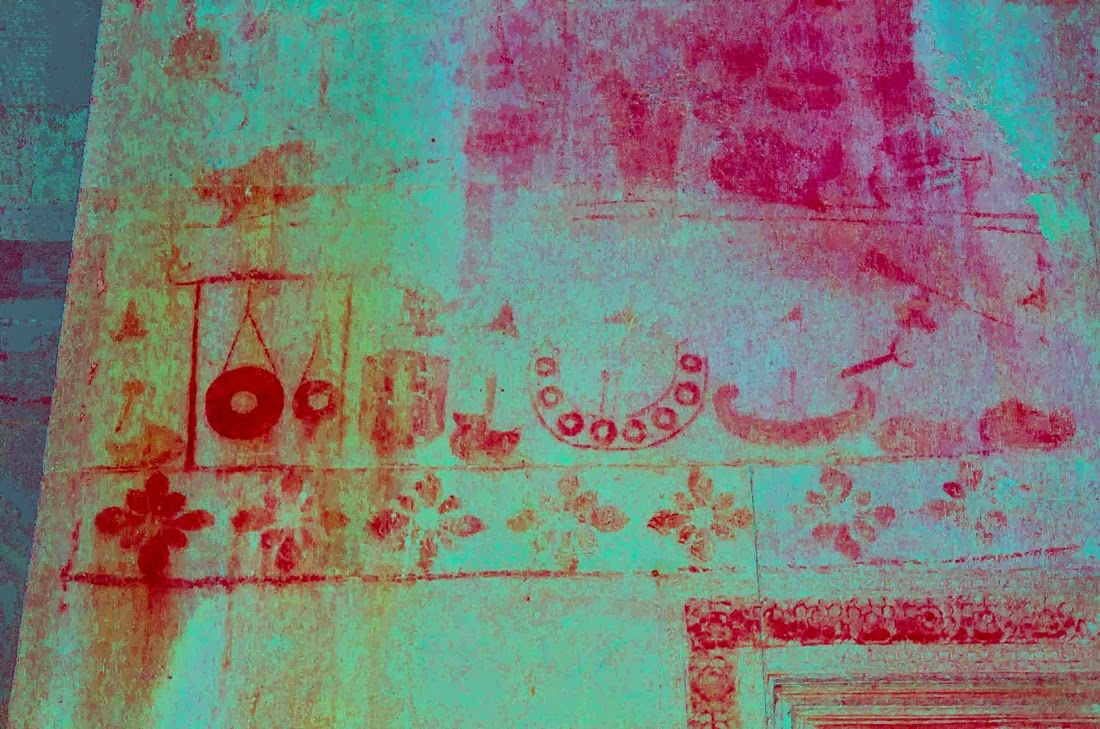 Hidden paintings revealed at Angkor Wat