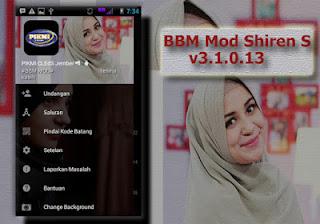 BBM Mod Shiren Sungkar v3.1.0.13 Apk Terbaru