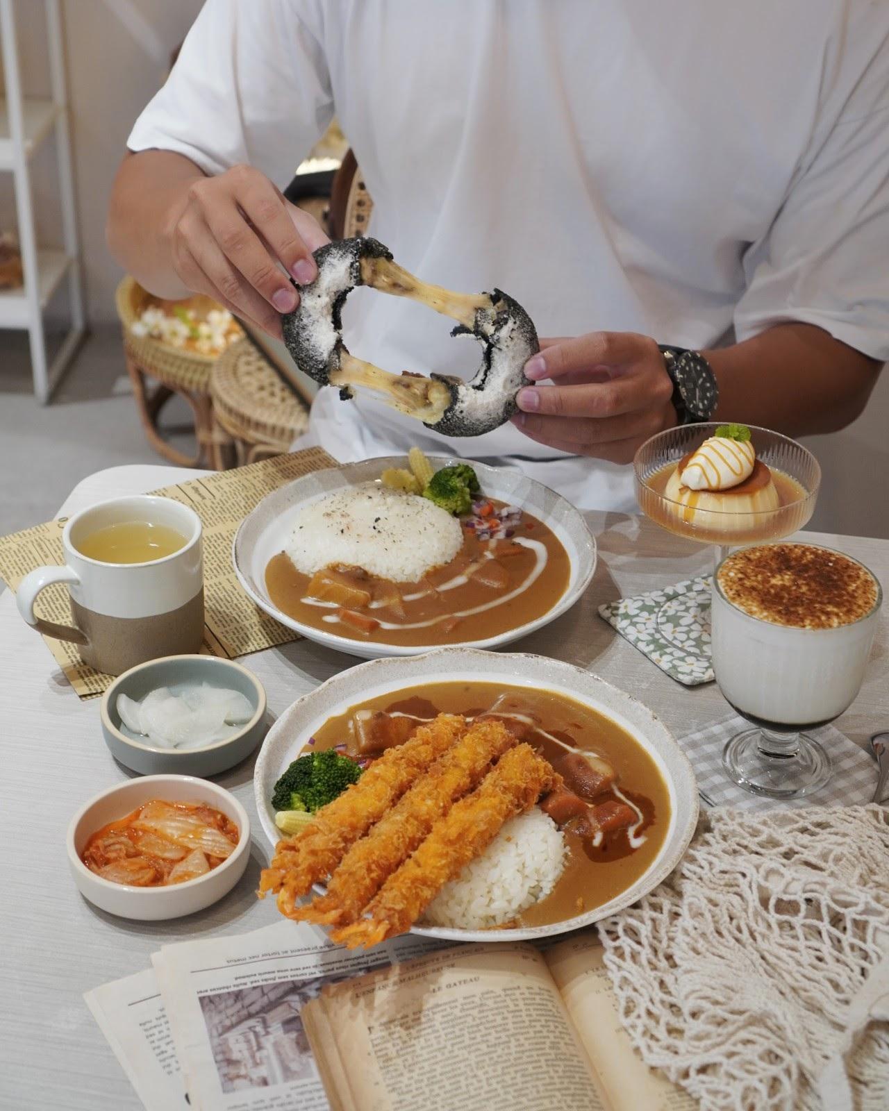 台南中西區美食【大丸家Curry Rice】台南絕美韓系咖哩專賣店!超人氣甜甜圈炸雞強勢推出新口味,銷魂牽絲讓人受不了