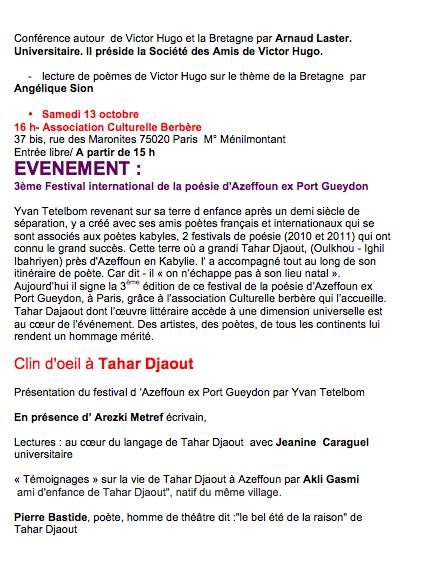 Poetes A Paris Historique 20062013